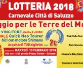 8 dicembre: parte la vendita dei biglietti della LOTTERIA di CARNEVALE 2018 !