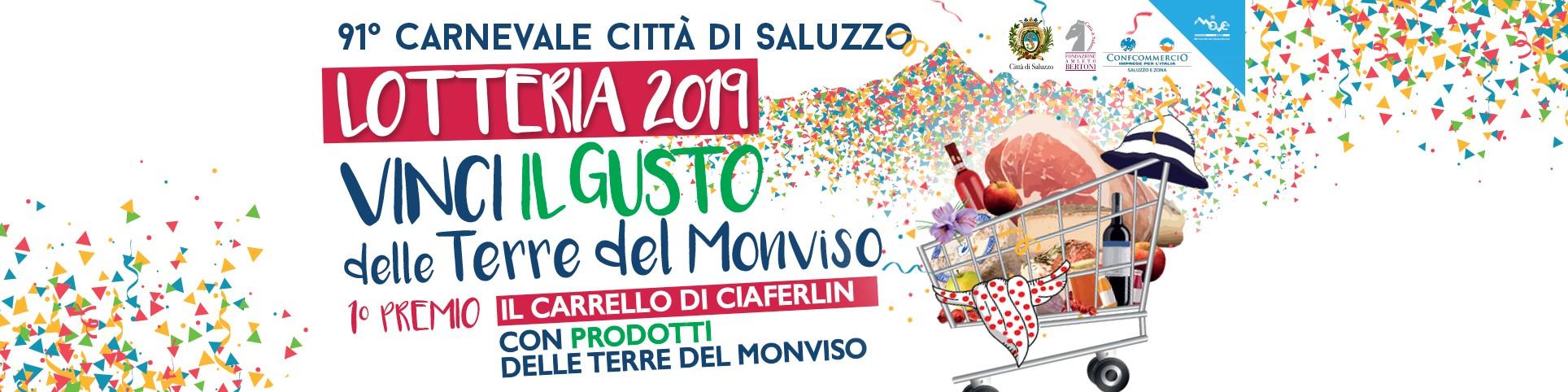 """LOTTERIA di CARNEVALE 2019 VINCI IL GUSTO DELLE """"TERRE DEL MONVISO"""" 🗓 🗺"""