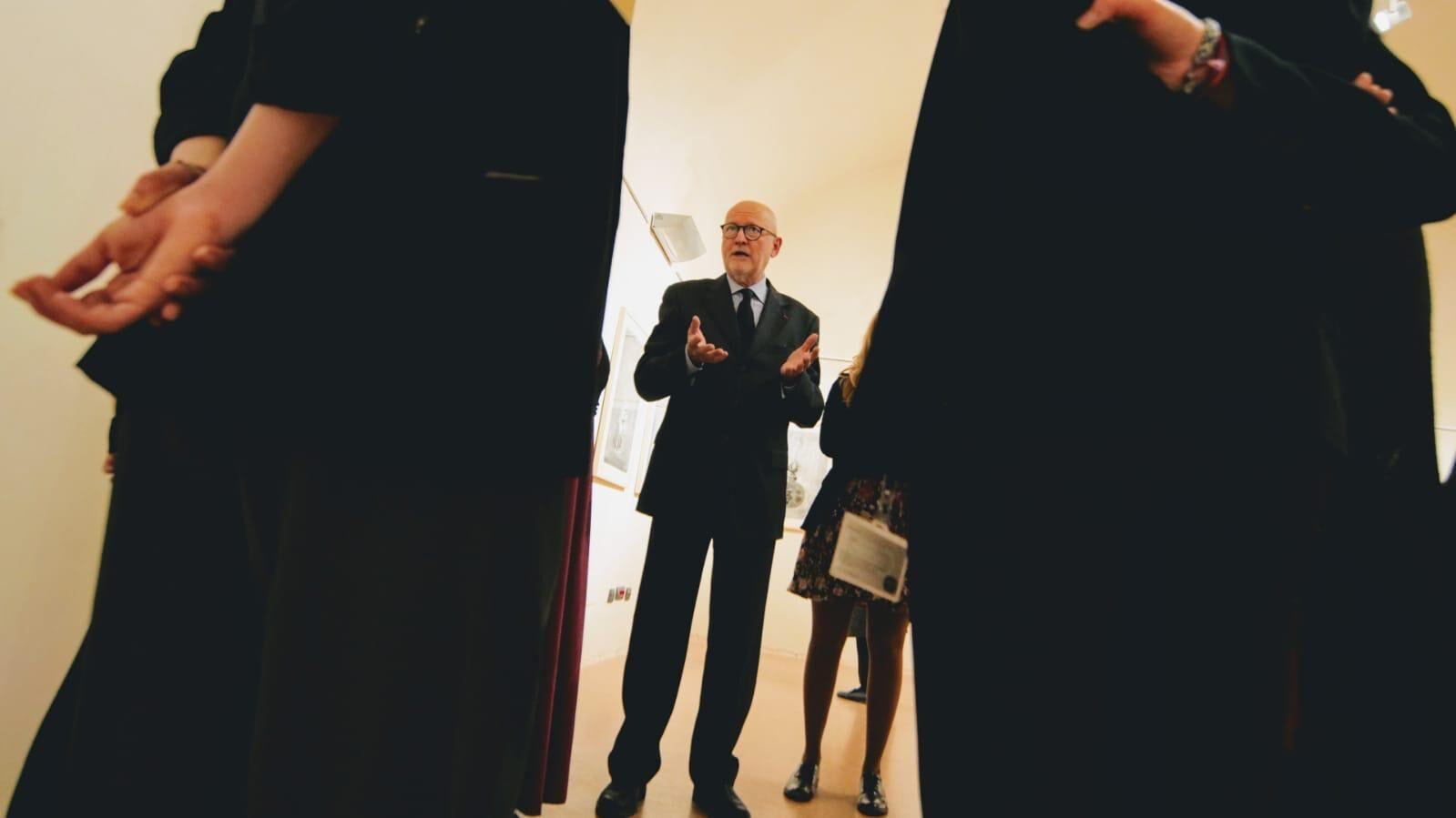DENTRO IL DISEGNO: visita guidata alla mostra insieme al curatore LÓRÁND HEGYI