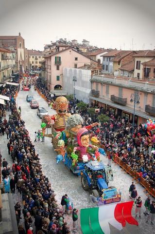 La sfilata e gli eventi del Carnevale 🗓 🗺