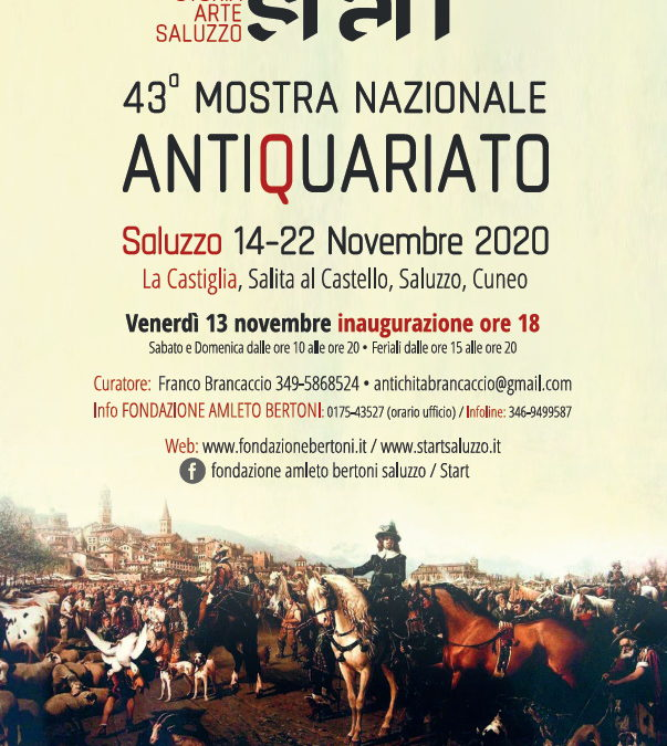 43° Mostra Nazionale Antiquariato di Saluzzo